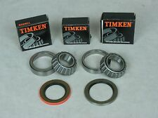 63-82 Corvette Timken Rear Wheel Bearing, Race & Seal Bearing Kit, Inner & Outer