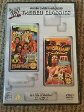 WWE Tagged Classics- Wrestlemania 9 & 10 DVD (2 Disc Set) WWF RARE