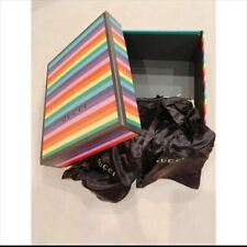 Used GUCCI rare and limited empty box Gift Box 37x29 Rainbow