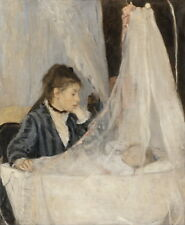 Berthe Morisot The Cradle Giclee Canvas Print Paintings Poster