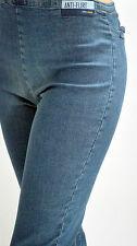 ANTI-FLIRT blue jean femme TAILLE 2 /US M / fermeture coté / 98% COTON