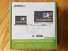 AIMOS KVM Switch HDMI 2 Port Box HUD 4K (3840x2160) Supported AM-KVM201