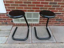 Paper Clip Stool    Mid-Century Modern Style   Counter Height - set of 2