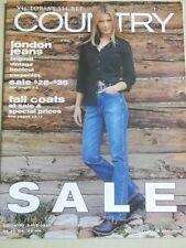 Victoria's Secret 1999 Fall Country Sale Edition Daniela Pestova cover