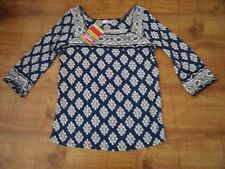 Urban 3/4 sleeve printed top / blouse size 10 NWT