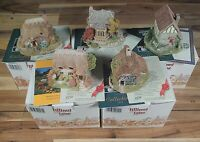 5 Medium Lilliput Lane Bundle All Mint & Boxed With Original Deeds + Paperwork!