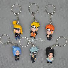 6pcs Naruto KEY CHAINS keychain