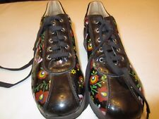 Girls shoes leather sneakers MOSCHINO, Made in Italy, US size 5