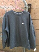 Vintage Nike Mini Swoosh Sweatshirt Mens 3XL Blue Tag Crewneck Travis Scott