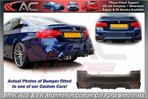 BMW E92 E93 M3 M4 STYLE REAR BUMPER (2006-2013 MODELS) Quality PP Polypropylene
