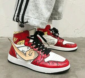 Limited Edition One Piece Anime Casual Cosplay Basketball Unisex Sneakers Shoes