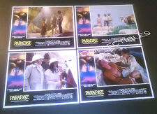 Lobby Card 4 lot~ PARADISE ~1982 ~Phoebe Cates ~Willie Aames