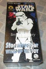 "Tin Age Osaka Tin Toy Star Wars Stormtrooper 9"" Wind up Tin Toy MIB - No 1916"