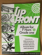 More details for up front album for f horn grade 1 & piano pub. brass wind