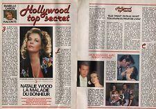 Coupure de presse Clipping 1989 Natalie Wood  (3 pages)