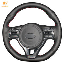 Genuine Leather Steering Wheel Cover for Kia K5 2016 Sportage4 KX5 2016 #QY31