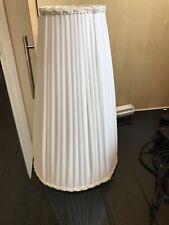 Vintage Handmade white lampshade