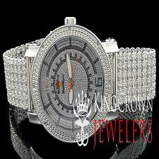 Ice Out Mens Joe Rodeo Jojo Jojino White Gold Finish Real Diamond Custom Watch