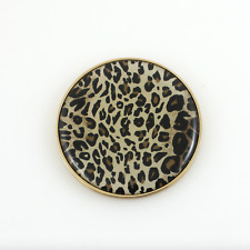 Halcyon Days Enamel Leopard Compact Mirror New