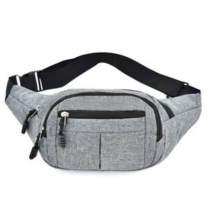 Fashion Hot New Men Women Fanny Waist Bag Outdoor Sport Bag Bum Bag Unisex US