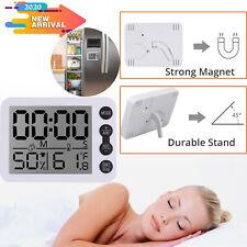 Digital Hygrometer Lcd Room Indoor Thermometer Temperature Humidity Meter