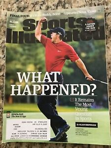 April 4 2016 Tiger Woods Augusta Masters Golf Sports Illustrated Magazine
