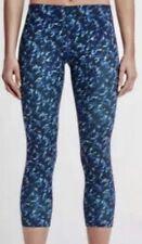 NIKE Essential Tight Fit Womens Capri Leggings Dri-Fit 849889 455 Size SMALL NWT