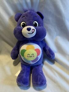 "10"" Harmony Purple Care Bear Plush Exclusive WalMart 2020"
