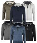Mens Fleece Hoodied Zip Up Sweat Jumper Smart Casual Jacket Big Size 2-8XL