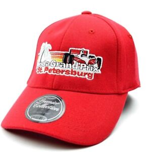 Indycar TOW Honda Grand Prix Of St. Petersburg Red Stretch Fit Racing Cap Hat