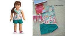 American Girl EASY BREEZY OUTFIT~Retired~Shorts~Shoes/Sneakers~Tenney~Z Yang