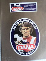 LOLLAND FALSTERS BREWERY MORK DANA DANISH BEER LABEL SOCCER FOOTBALL