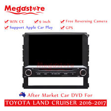 "9"" Car DVD GPS For TOYOTA LAND CRUISER 2016-2018 Apple CarPlay android auto"