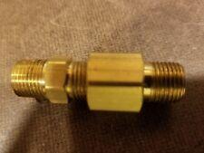 "CHECK VALVE Hit Miss Engine gas line1/8""NPT Fuel Brass Motor Water Oil"