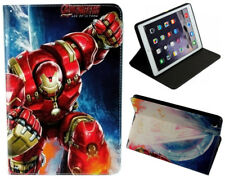 For iPad Pro 9.7 2017 / iPad 9.7 & iPad Air 1-2 Marvel DC Iron man Case Cover