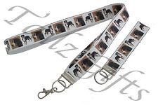 More details for great swiss mountain dog matching lanyard | keyring key ring | bookmark