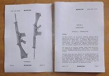 SLR Rifle.7.62mm.User handbook.Self Loading Rifle.L1A1.L12A1.