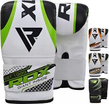 Rdx Boxing Gloves Punching Bag Mitts Mma Muay Thai Training Bmr Us