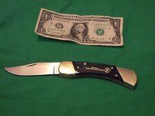 "vintage colonial folding pocket knife USA --NRA-3&1/2""blade 8&1/2"""