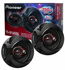 PIONEER TS-R1650S 6.5-INCH CAR AUDIO 3-WAY COAXIAL SPEAKERS (PAIR) 250W MAX