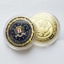 American Federal Bureau of Investigation FBI Washington DC EAGLE Challenge coin