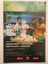 2015 GAA All-Ireland Football QF MONAGHAN v TYRONE & DONEGAL v MAYO  Programme