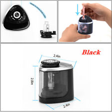 Electric Pencil Sharpener Portable Touch Switch School Office Classroom Kids