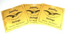 Aquila Ukulele Strings 3 Pack Tenor Regular Nylgut Made in Italy