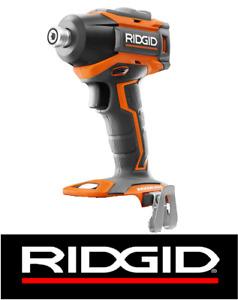 RIDGID R86038 18-VOLT COMPACT CORDLESS BRUSHLESS 3 SPEED IMPACT DRIVER