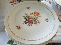 German Dresdan Dinner Plates Set Of 6