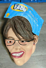 Sarah Palin Latex Costume Mask Election Politics Candidate Halloween