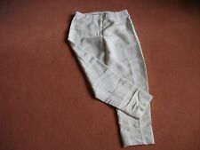 Phillip Lim capri trouser's size 10 with turn up, off white/cream, silk lined.