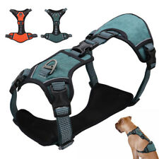 No Pull Dog Harness for Large Dogs Mesh Reflective Escape Proof Safety Harness