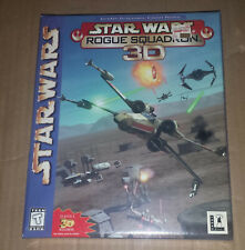 Star Wars Rogue Squadron 3D for Windows PC, Boxed Version, Factory Sealed